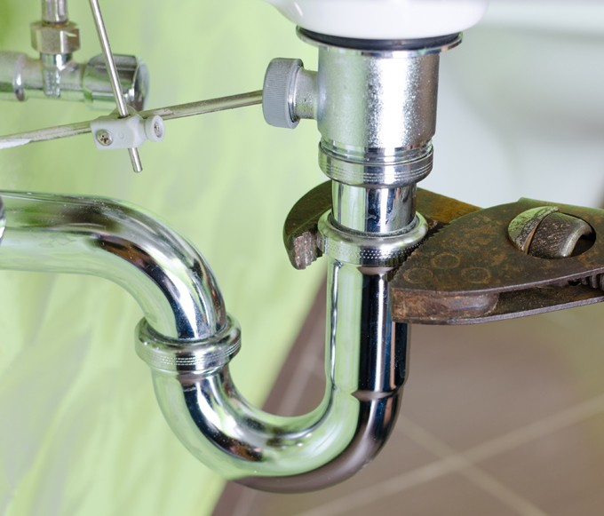 Tightening a Faucet